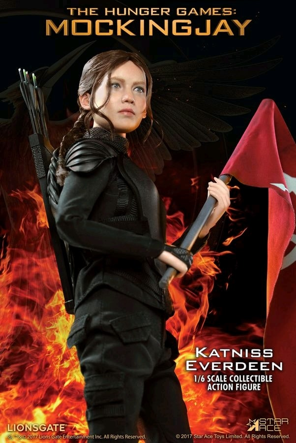 1//6 Scale Bow /& Arrow Shooting Hands Katniss Everdeen from Hunger Games