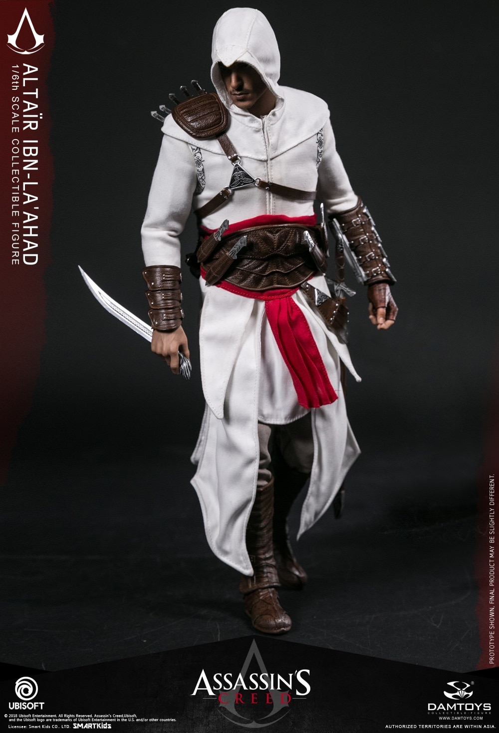 DAMTOYS DMS005 Assassin/'s CreedⅠ1//6 Bracer for Altair Collectible Action Figure