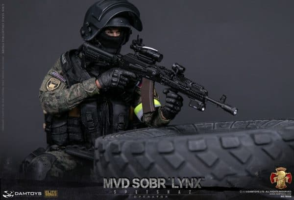 DAMTOYS 1/6 Russian Spetsnaz MVD 78058 - SOBR LYNX Action Figure