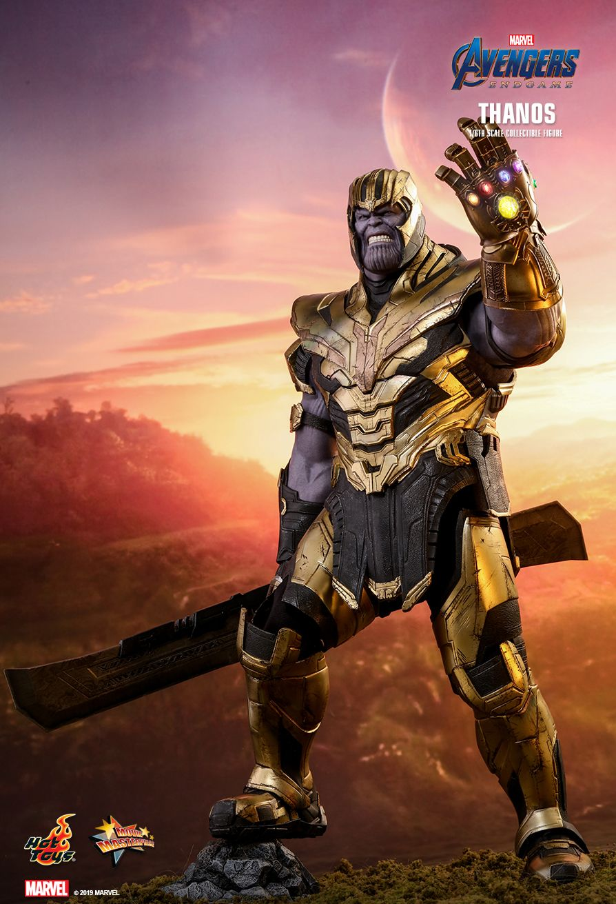 Endgame Thanos 1//6 Scale Figure Base Stand for Hottoys HT MMS529 Avengers