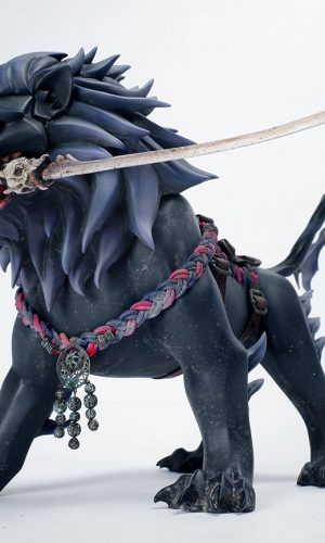 AX2 Studio Kuro no Kenshi Kengo (youth edition) & Shishimaru 1/6 Scale  Figure