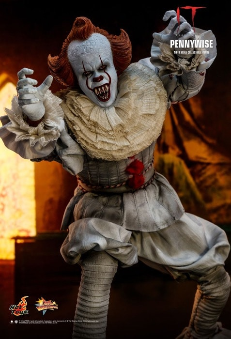 Pennywise Hot Toys 1//6 MMS555 IT Chapter Two