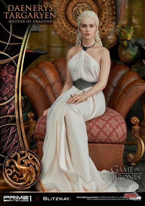 Prime 1 Studio X Blitzway Game Of Thrones Daenerys Targaryen Dragon Queen Statue Sugo Toys Australian Premium Collectable Store