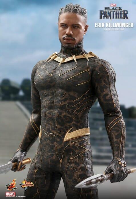 Black Panther Hot Toys 1//6 MMS471 Erik Killmonger