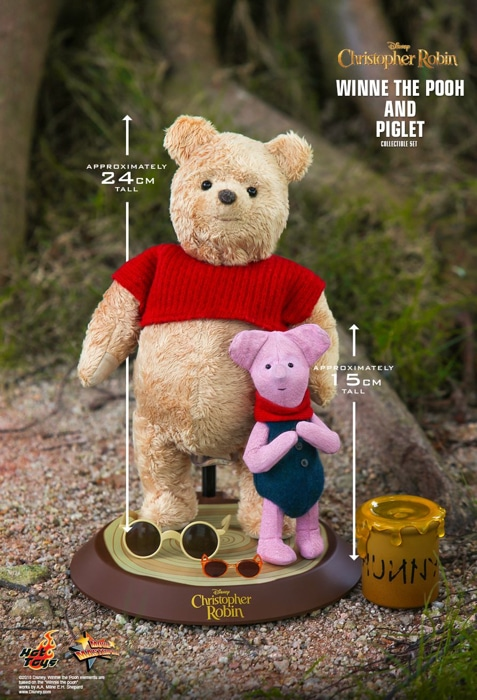 Hot Toys CHRISTOPHER ROBIN WINNIE THE POOH 1//6 Figure MMS502