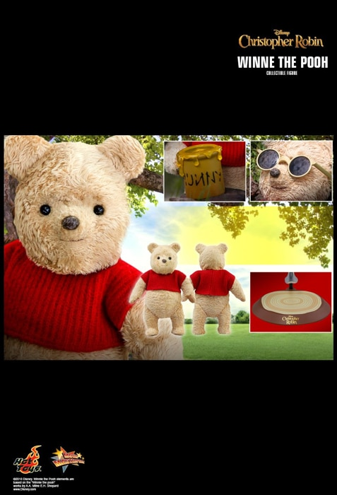 Hot Toys CHRISTOPHER ROBIN WINNIE THE POOH 1//6 Action Figure MMS502