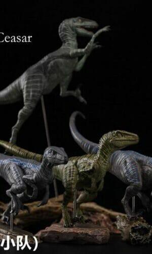"Nanmu Studio 171025 1//35 Jurassic Series Raptor Tactical Team /""Diana/"" Dinosaur"