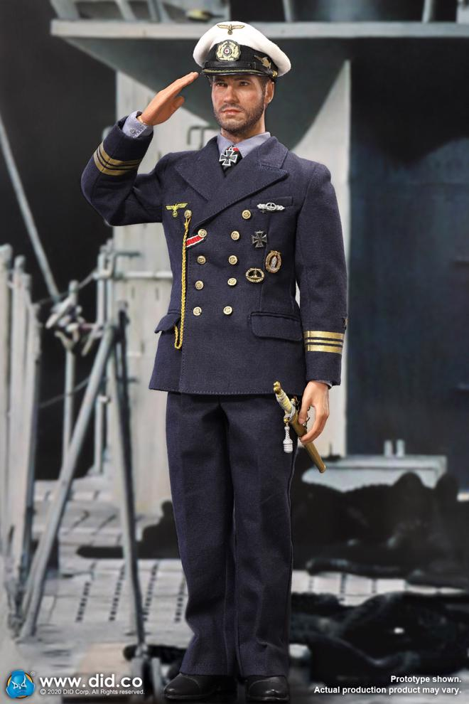 DID D80148 1//6 WWII German U-Boat Commander Lehmann Uniform Model
