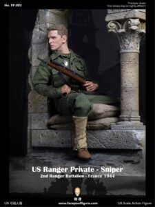 1/6 Facepool US Ranger Private - Sniper France 1944 FP003A